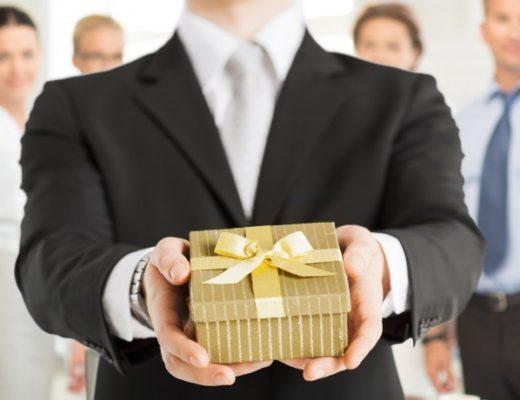 новогодний подарок деловому партнеру