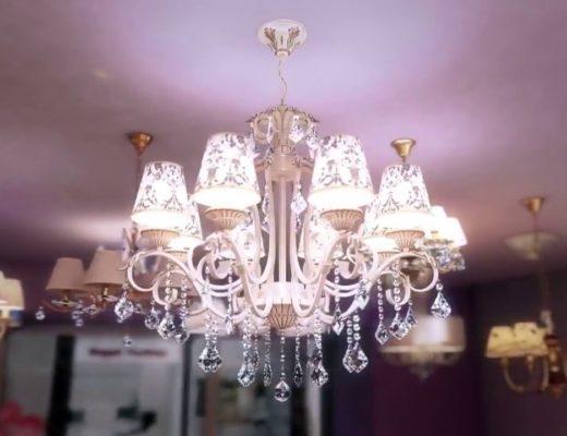 выбор люстры в гостиную