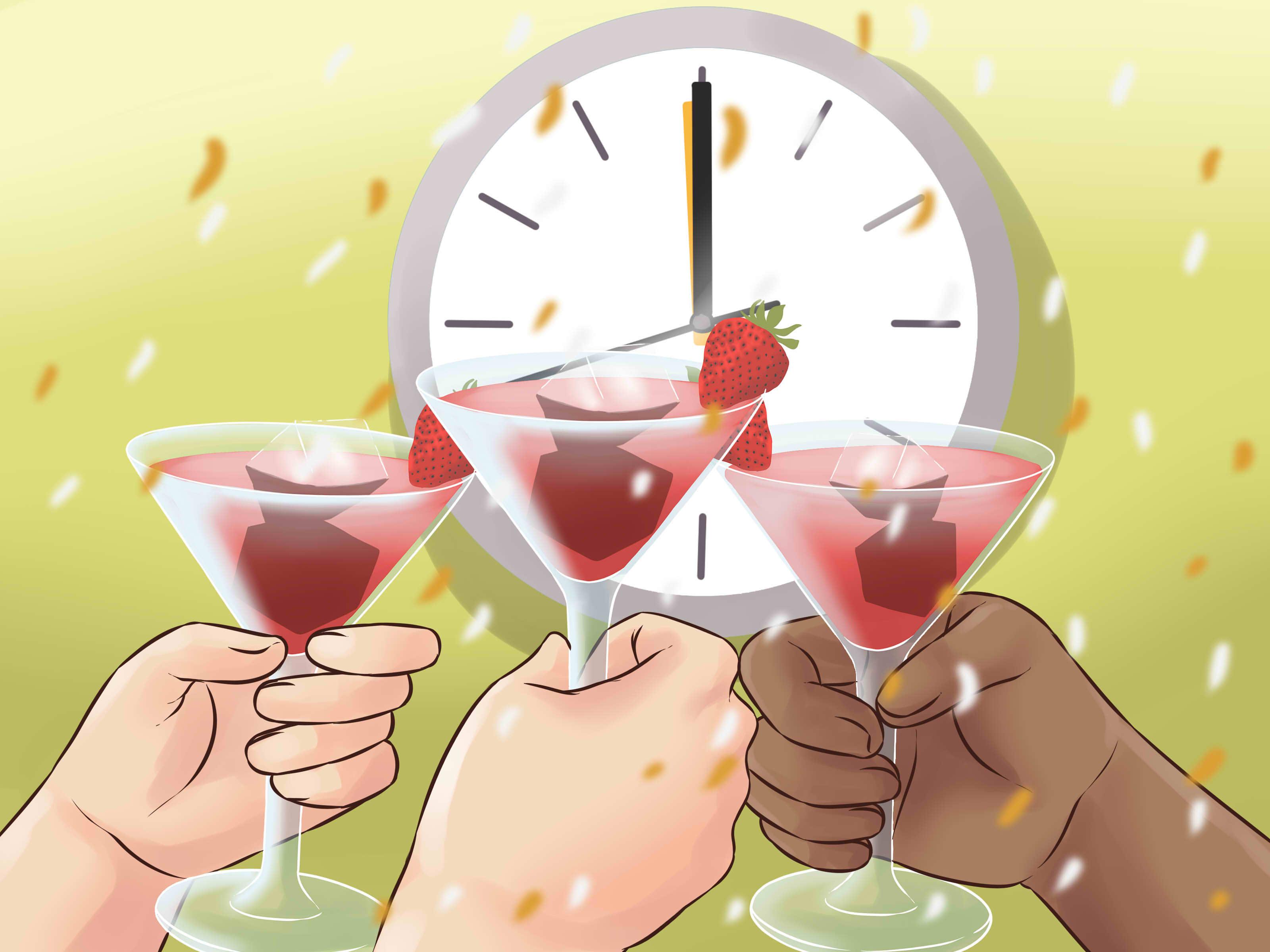 как отпраздновать новый год дома