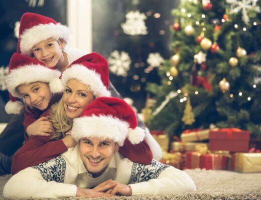 рождественская фотосессия