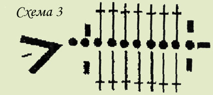 Схема ажурного болеро крючком
