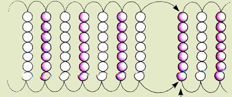 Плетение браслета бисером