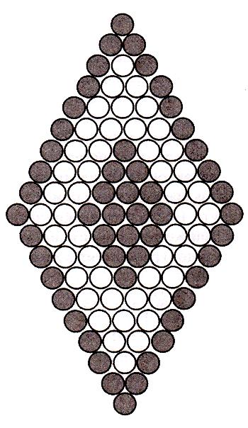 Елочные шары бисером