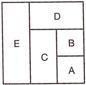 Лоскутный валик - схема