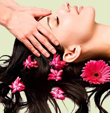 Основная цель массажа головы