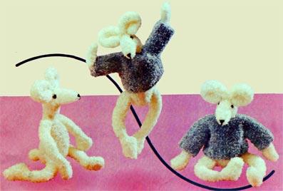Вязание мыши