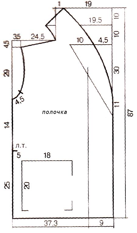 короткая штора для детской комнаты