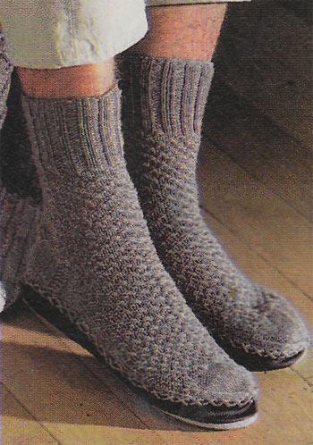 Вязание спицами дырочки для шнурка