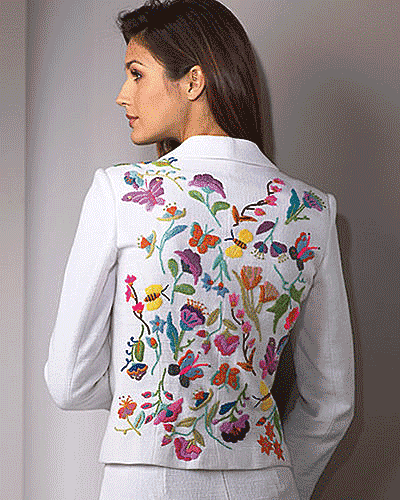 Женские блузки вышивка