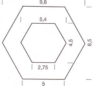 Лоскутное шитье - схема