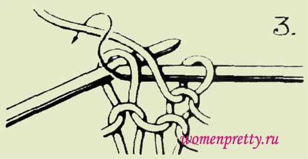 вязание узоров по схеме