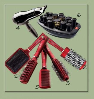 Принадлежности ухода за волосами