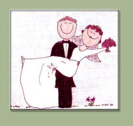 Тосты в честь жениха и невесту