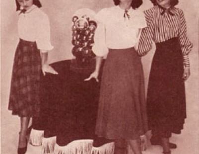 История женской блузки