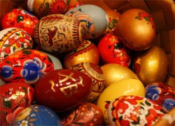 Окрашивание яиц