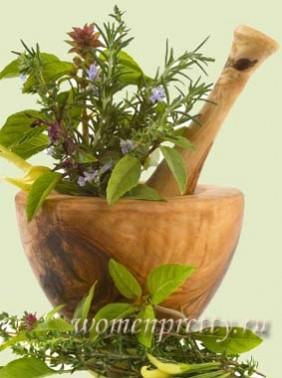 Рецепты из трав для похудения