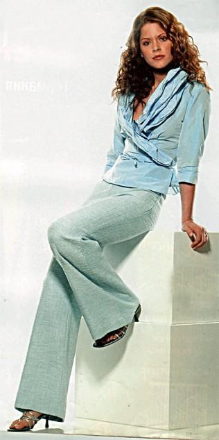 Шьем блузку и брюки