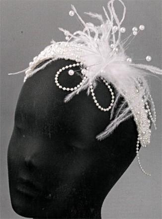 Свадебный головной убор своими руками