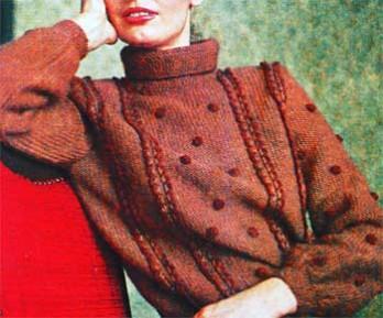 Воротник свитера
