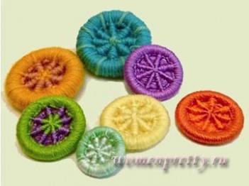 Плетеные пуговицы