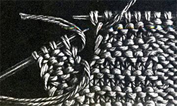 Как вывязывать петли для пуговиц спицами