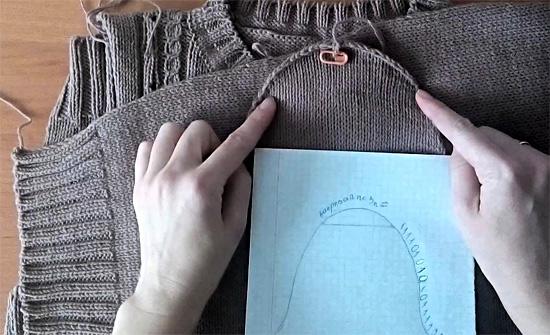 Как вязать рукава спицами: схема для начинающих (снизу, от плеча)