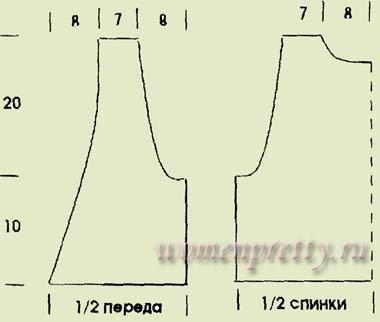 схемы вязания ленточного кружева